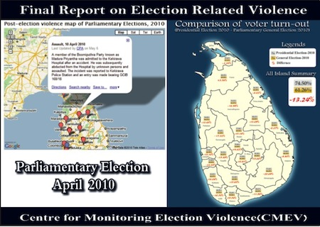 related violence and malpractices during the Presidential Election 2010