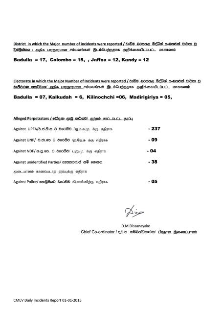 Presidential Election 2015- summary 01.01.2015 - Page 2