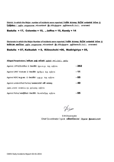 Presidential Election 2015- summary 02.01.2015 - Page 2